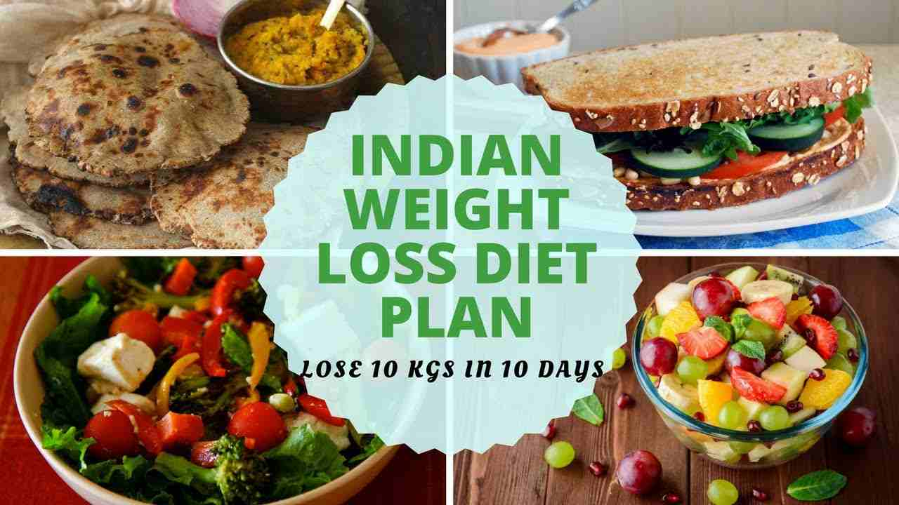 Indian diet to lose weight in 10 days