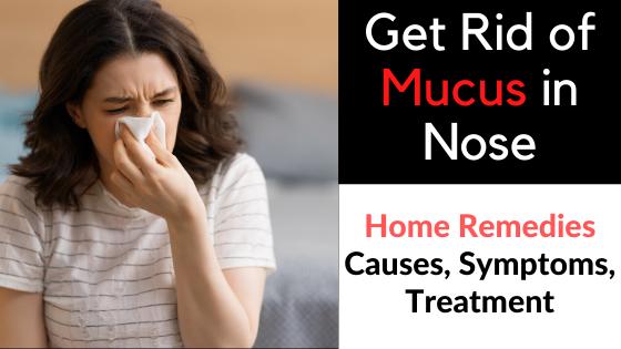 Mucus in Nose