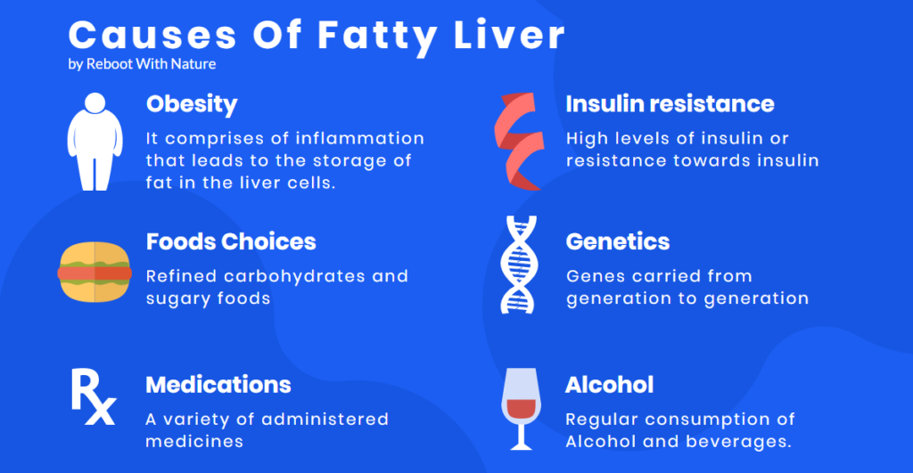 fatty liver causes, fatty liver diet