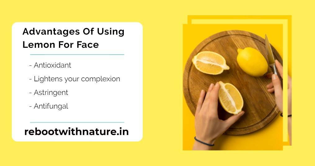 Honey And Lemon For Face - lemon advantages