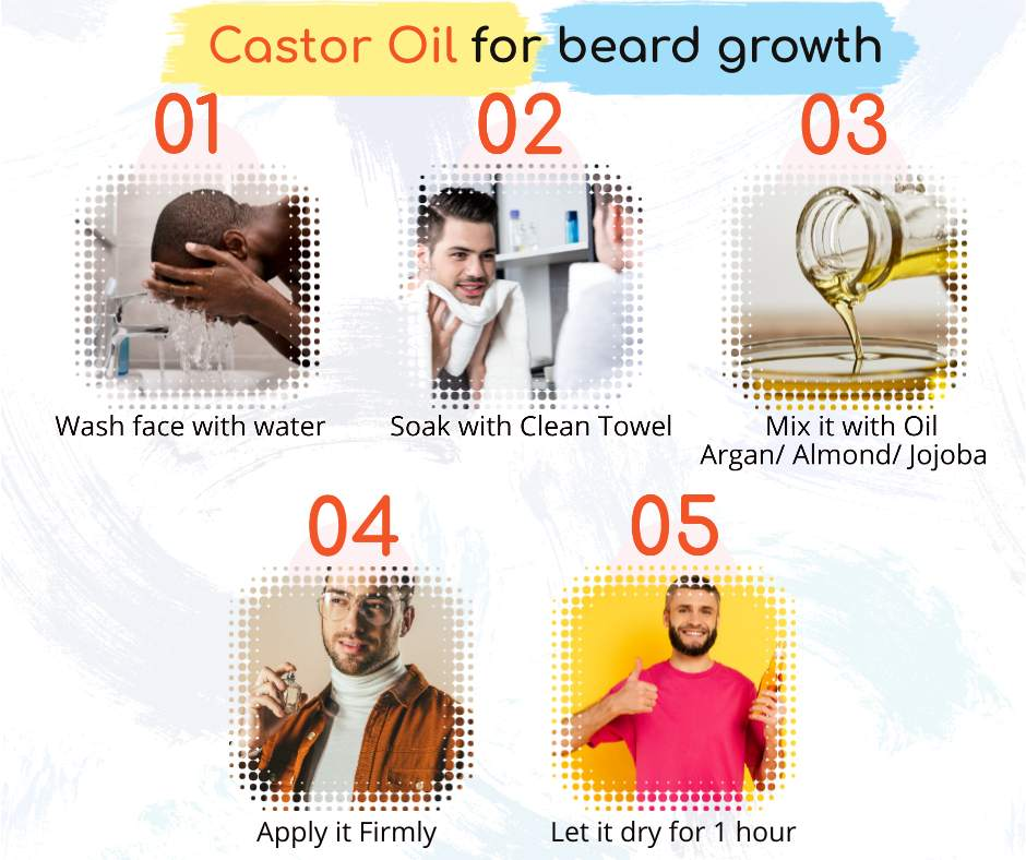 Castor Oil for Beard Growth