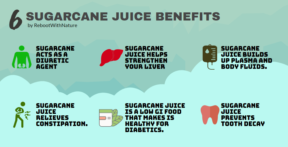 sugarcane juice benefits