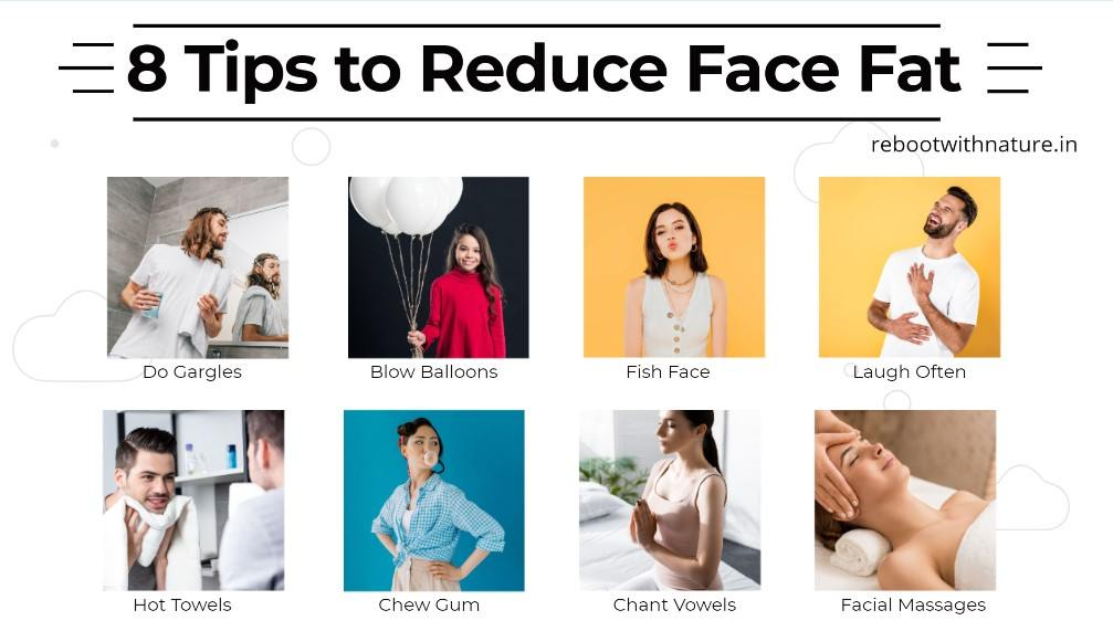 8 Tips to Reduce Face Fat