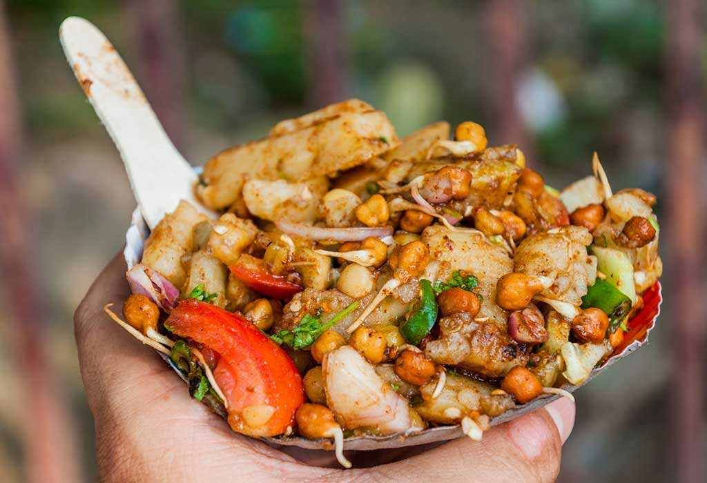 Healthy Indian Snacks channa