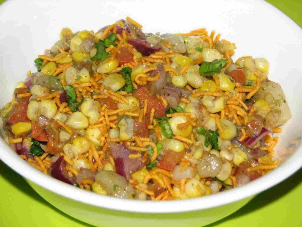 Healthy Indian Snacks corn salad