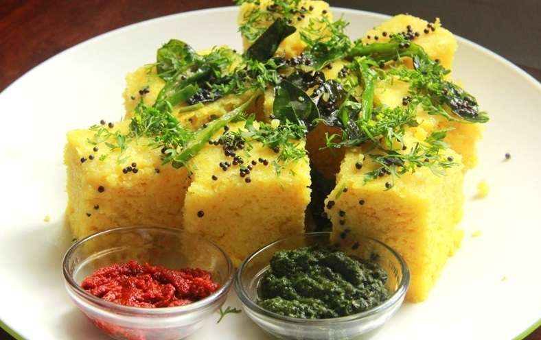 Healthy Indian Snacks Dhokla