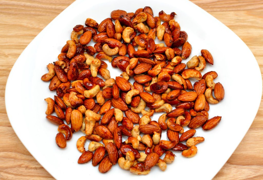 Healthy Indian Snacks roasted nuts