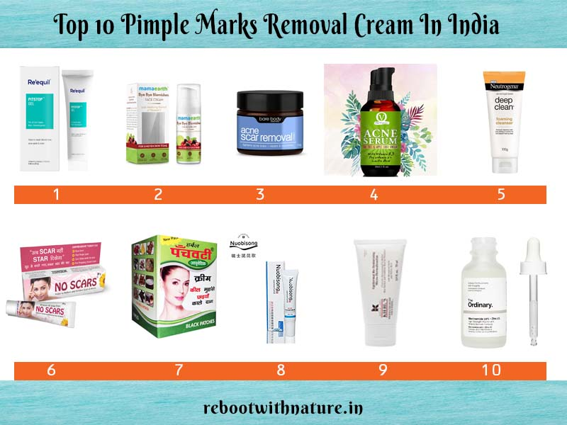 Pimple Marks Removal Cream In India