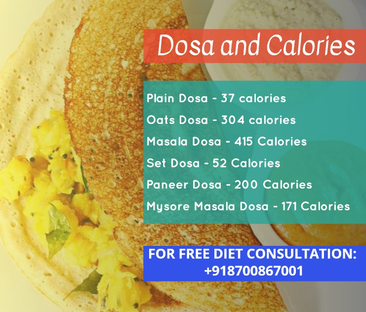 Is Dosa Healthy - Calories