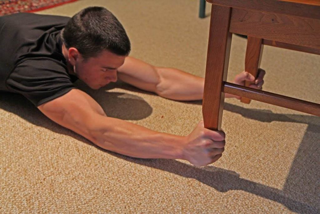 Chair Ups forearm- Easy Exercises For Forearm