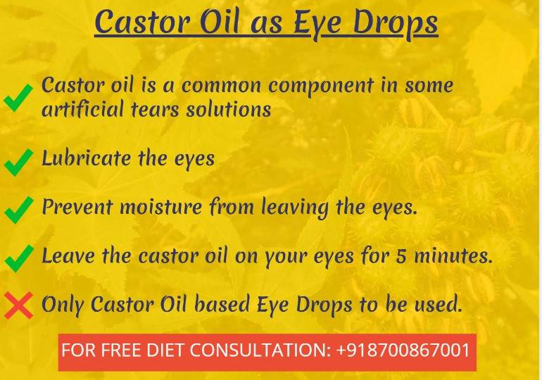 castor oil eye drops