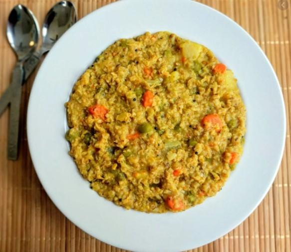 Vegetable Dalia Recipe For Weight Loss
