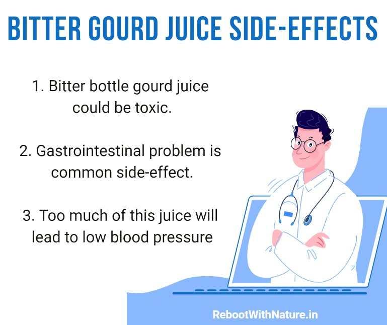 BITTER GOURD JUICE SIDE-EFFECTS